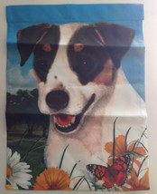 Fox Terrier Garden Flag USA Made Double Sided 1... - $24.24