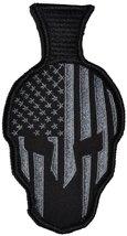 Spartan Helmet - 2.75x5.25 Morale Patch (Black) - $7.83