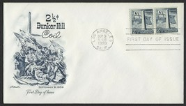 #1056 2 1/2c Bunker Hill, Artmaster-Addressed FDC **ANY 4=FREE SHIPPING** - $1.25