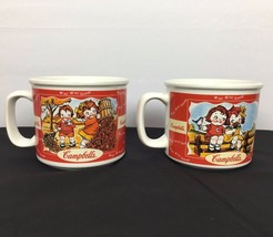 Campbell's Collectible Soup Mugs Cups 1998 Hous... - $19.98