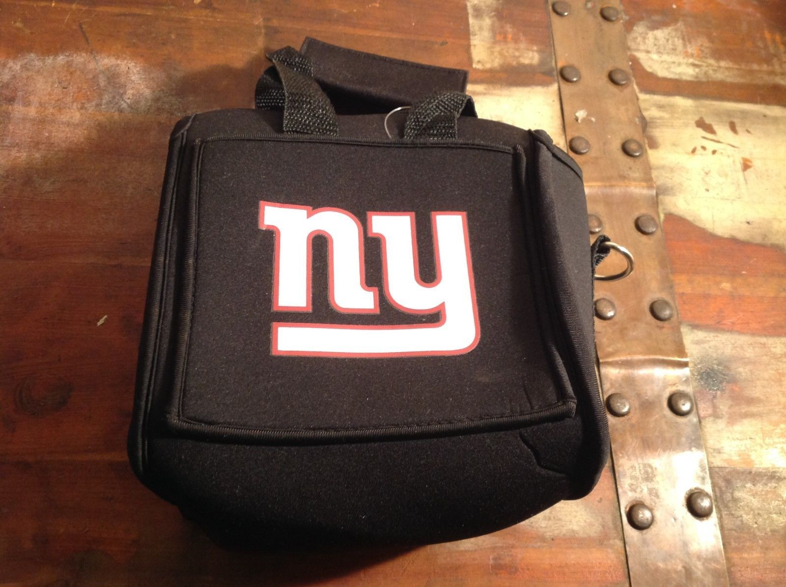 New York Giants Insulated 6pk Beer Koozie Carrier