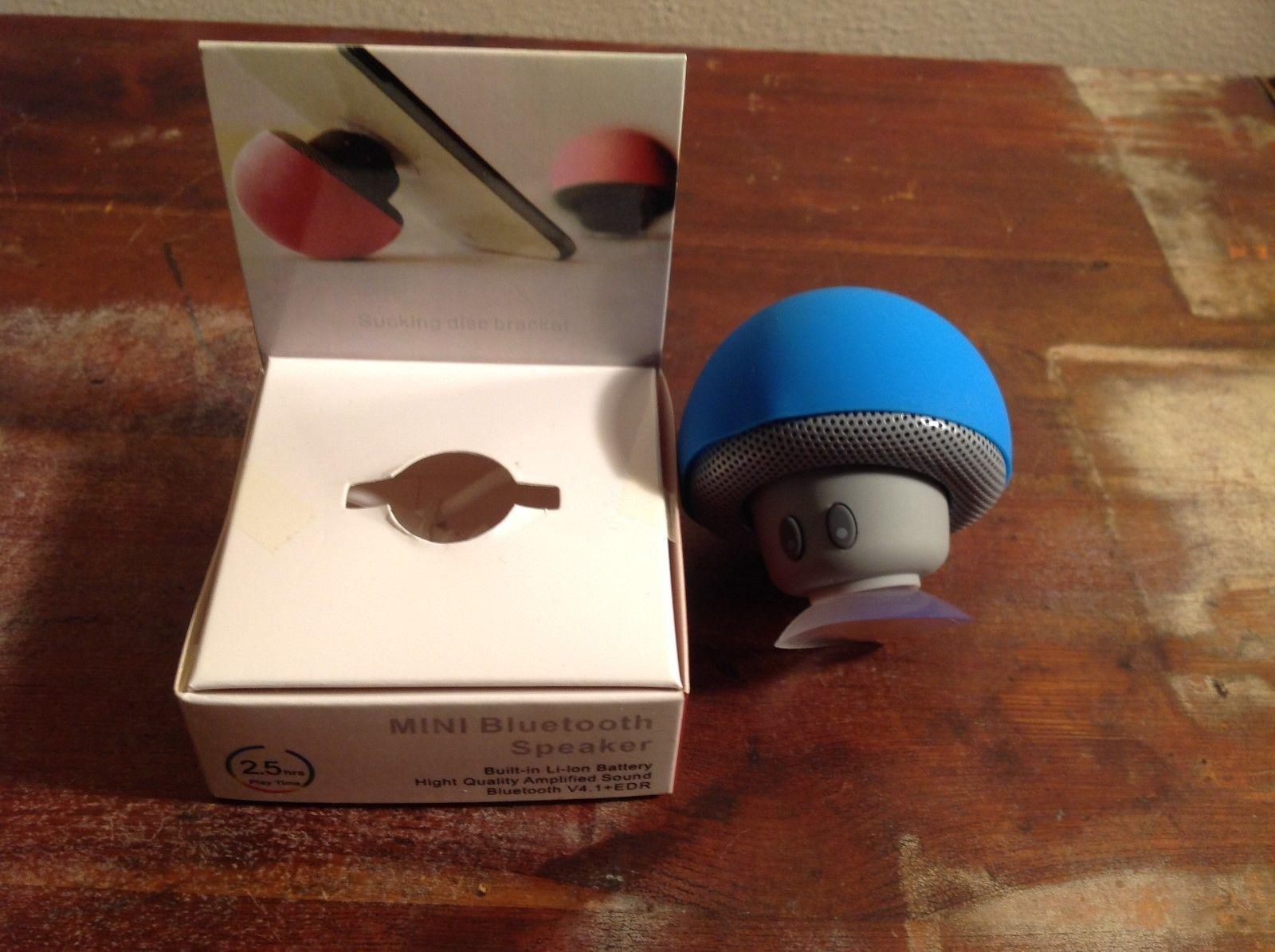 NEW Mushroom Shaped Mini Bluetooth Speaker