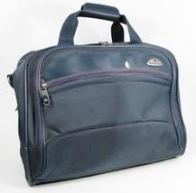 SAMSONITE Blue Nylon Duffle Bag Overnight Travel Carry On Organizer 17 X... - $29.69