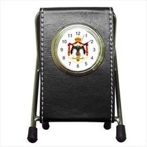 Jordan Coat Of Arms Leather Pen Holder Desk Clo... - $16.98