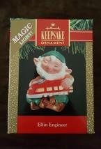 New 1991 ELFIN ENGINEER ORNAMENT Hallmark Magic never used in original p... - $12.26