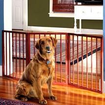 """Adjustable Extra Wide Pet Gate – 54"""" Freestanding Dog Gate - Pet Fence - $29.02"""