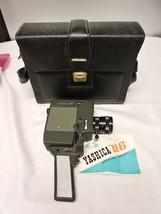 Yashica 8 U-G 8mm Movie Camera Case and Manual - $50.00