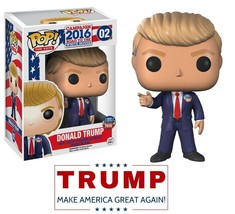 Donald Trump Bobblehead Vinyl Doll President Toy Collectible Action Figu... - $32.66