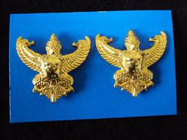 Garuda COLLAR PIN Military Medal insignia Thailand  - $4.95