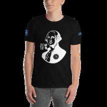 George Washington T-shirt / Betsy Ross T-Shirt / Front, back and sleeves print image 10