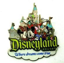 "Disneyland Resort Mickey Mouse Sleeping Beauty Castle 2"" Pin (B14) - $14.50"