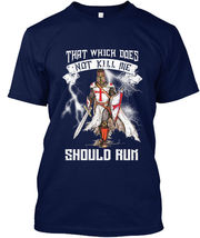 Easy-care That Which Does Not Kill Me Should Run - Hanes Tagless Tee T-S... - £17.45 GBP