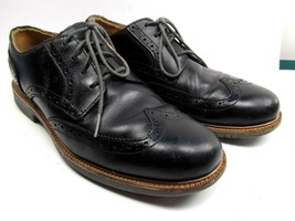Cole Haan Grand OS Wingtip Derby  Mens Black  8 M Shoes - $19.39