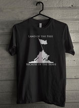 Freedom Isnt Free Raising Flag on Iwo Jima Men's T-Shirt - Custom (300) - $19.12+