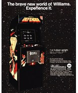 "Video Arcade Game Stand-Up Display Williams ""DEFENDER"" # 2 - Gaming Aste... - $15.99"