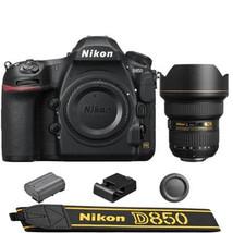 Nikon D850 DSLR Camera w/  AF-S NIKKOR 14-24mm f/2.8G ED Lens - $5,444.01