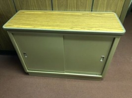 MCM Storage Cabinet All Steel Metal Desk  - $148.50
