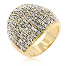 Pave Crystal Cocktail Ring - $70.00