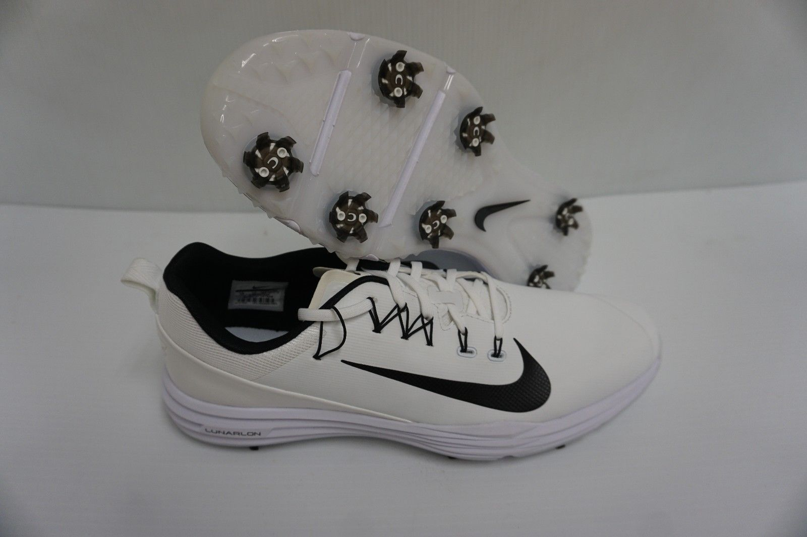 detailed pictures 757a0 ab119 Nike lunar command 2 golf shoes white black and 38 similar items. 57