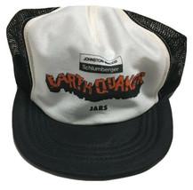 Vtg Johnson Macco Schlumberger Earthquake Jars Trucker Hat Made In The U... - $19.79