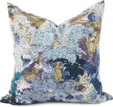 HOWARD ELLIOTT STANTON Throw Pillow 20x20 Turquoise Blue - $259.00