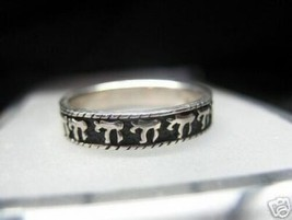 New Sterling Silver Chai ring JEWISH Jewelry Judaism - $21.05