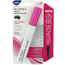 New Almay One Coat Mega Volume Mascara #010, BLACKEST BLACK - $6.79