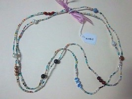 Hand Beaded (small & large bead) Necklace (16 Necklaces) - $23.95