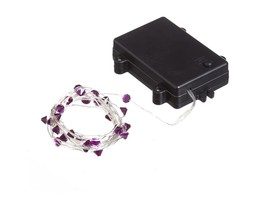 New Creative Purple Gem Outdoor Safe String Lights - $15.54