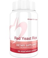 Designs for Health Organic Red Yeast Rice 1200mg Capsules - Certified Or... - $40.92