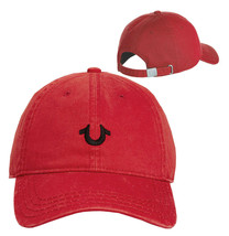 True Religion Men's Horseshoe Logo Hat Adjustable Baseball Cap Strapback TR2309