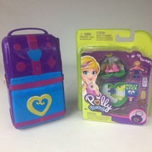 Polly Pocket Hidden n Plain Sight Beach Vibes Backpack- New Heart Shape ... - $16.82