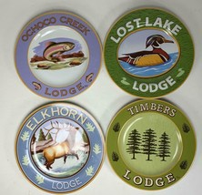 Sakura Hunting Season Elkhorn Lost Lake Timbers Ochoco Creek Lodge 4 Set... - $22.76