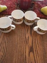 SET OF 4 Beautiful Royal Doulton Everyday Cinnabar Tea Cup - $14.75