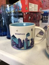 "Starbucks 2017 You Are Here Collection  ""Memphis"" Coffee Cup Mug 14 oz - $14.06"