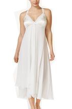 Flora by Flora Nikrooz Plus Size Charlotte Floral-Trim Chiffon Nightgown... - $54.81