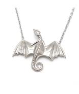 Game of Thrones Daenerys Targaryen Dragon Necklace 925 Sterling Silver P... - $35.99