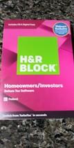 H&R Block Homeowners / Investors 2019 Deluxe Federal 3- efiling - $21.78