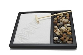 Sand & Rock Zen Garden Kit with rake by Tatum & Shea - $26.29