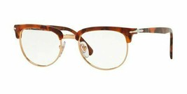 Persol RX Eyeglasses Frames PO3197V 1072 52 20 Brown Tortoise Tailoring Edition - $108.89