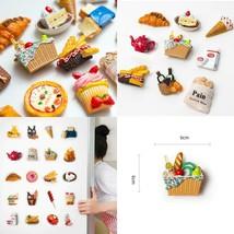 Cartoon Food Refrigerator Paste Magnet Decoration Creative Personality 3... - $10.20