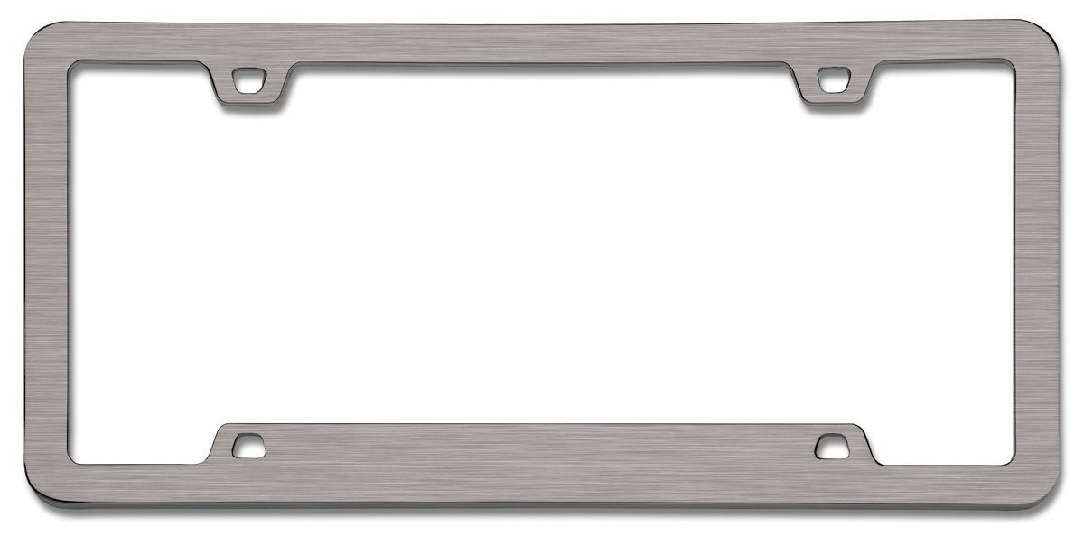Cruiser Accessories 15190 Neo Sport Brushed Nickel License Frame