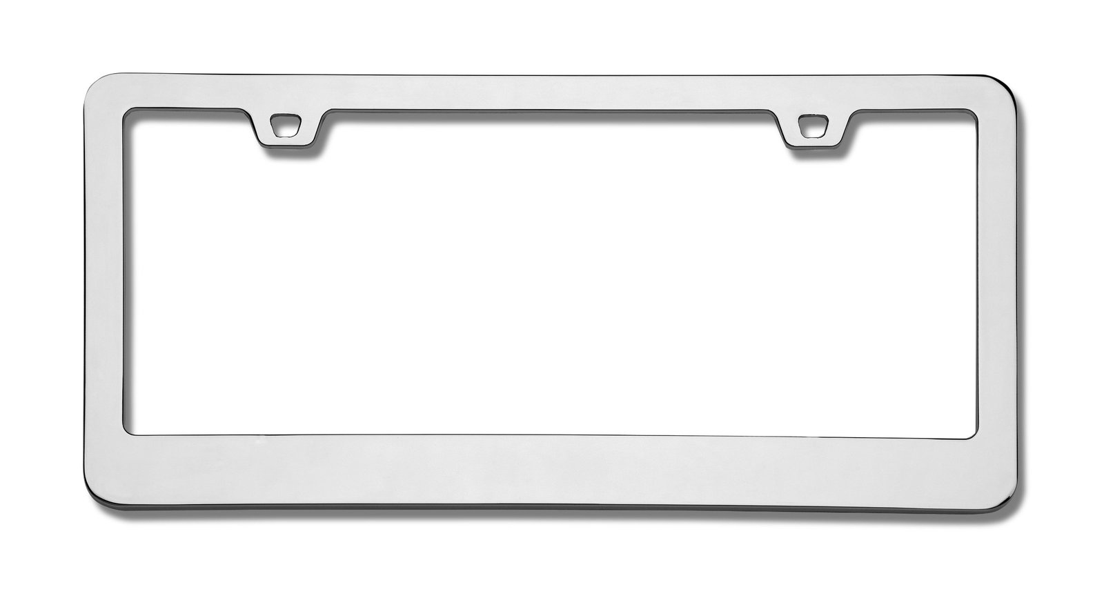 Cruiser Accessories 15330 Neo Classic Chrome License Frame