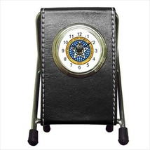 Seal Of Oklahoma USA Leather Pen Holder Desk Cl... - $16.98
