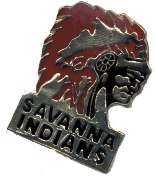 12 Pins - SAVANNA INDIAN , native american pin #4794