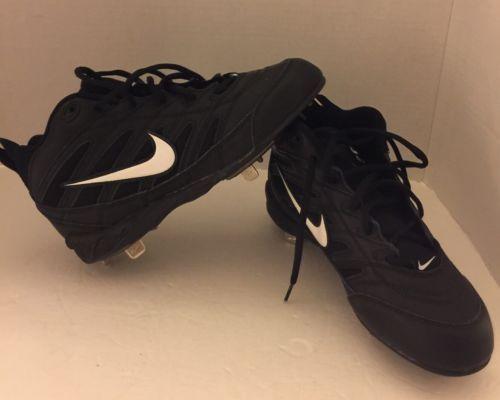 New Nike Air Mid Cut Black Football Soccer and 50 similar items
