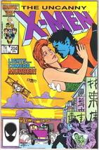 The Uncanny X-Men Comic Book #204 Marvel Comics 1986 NEAR MINT NEW UNREAD - $8.79
