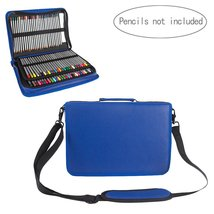 Samaz 160 Slots Pencil Case for Colored Pencils (Blue) - $27.99