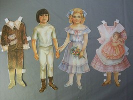 Dover Old Fashioned Children Paper Dolls Evelyn... - $9.50