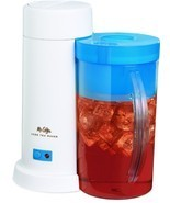 Mr. Coffee Iced Tea Maker Machine 2 Quart Brew Tea Bags Loose Leaf Drink... - £27.15 GBP